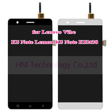 Black White LCD+TP for Lenovo Vibe K5 Note K52t38 5.5″ LCD Display Touch Screen Digitizer Assembly Replace Free Shipping+Tools