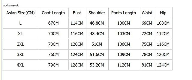 Loldeal Men Color matching Two Piece Clothing Sets Casual Jacket+Pants 2PCS Track Suit Sportswear Sweatsuits