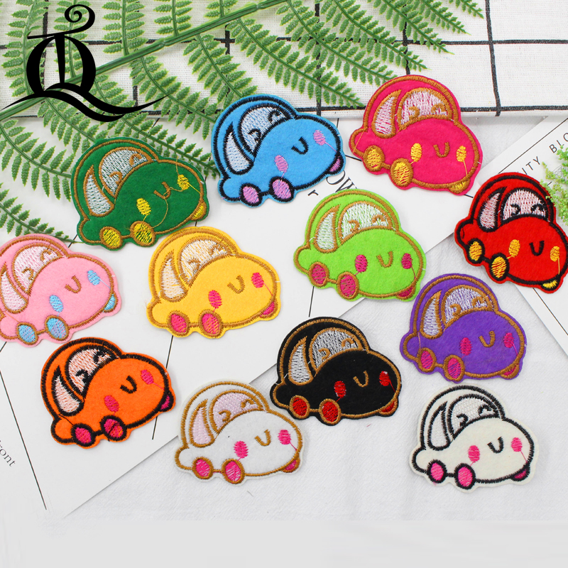 free shipping mix 12pcs baby bear Sewing Clothes Jeans Embroidery patches for clothing Applique Motifs Sew On cartoon animal C8