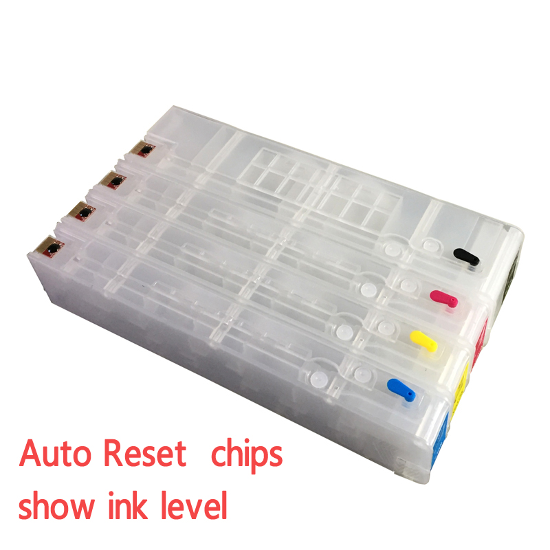 For HP970 for hp Officejet Pro X451dn X551dw X476dn X576dw Refillable ink cartridges Empty with ARC chips on high quality 11color refillable ink cartridge empty 4910 inkjet cartridges for epson 4910 large format printer with arc chips on high quality