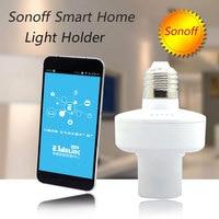 New Itead Sonoff Smart Home E27 WiFi Light Bulbs Holder Slampher 433MHz RF Wireless Light Holder