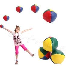1шт развлечения и упражнения жонглирование мячи набор классический фасоль сумка жонглирование магия цирк дети игрушка подарок новинка бесплатная доставка