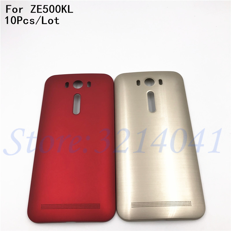 10Pcs/Lot 5.0 inches For ASUS Zenfone 2 Laser <font><b>ZE500KL</b></font> Replacement Back Door <font><b>Battery</b></font> Case Rear Housing Cover With Logo