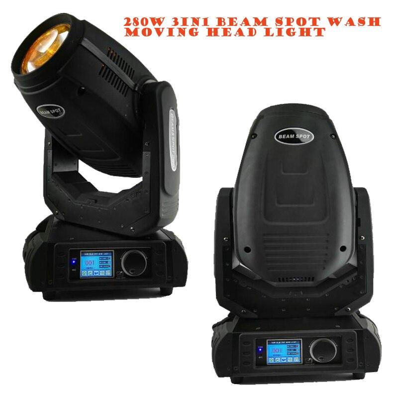 Робин высокого качества 280 Вт Шарпи луч омывающая точечная движущаяся головка света 280 луч 10R профессиональное DJ сценическое освещение 230 Вт