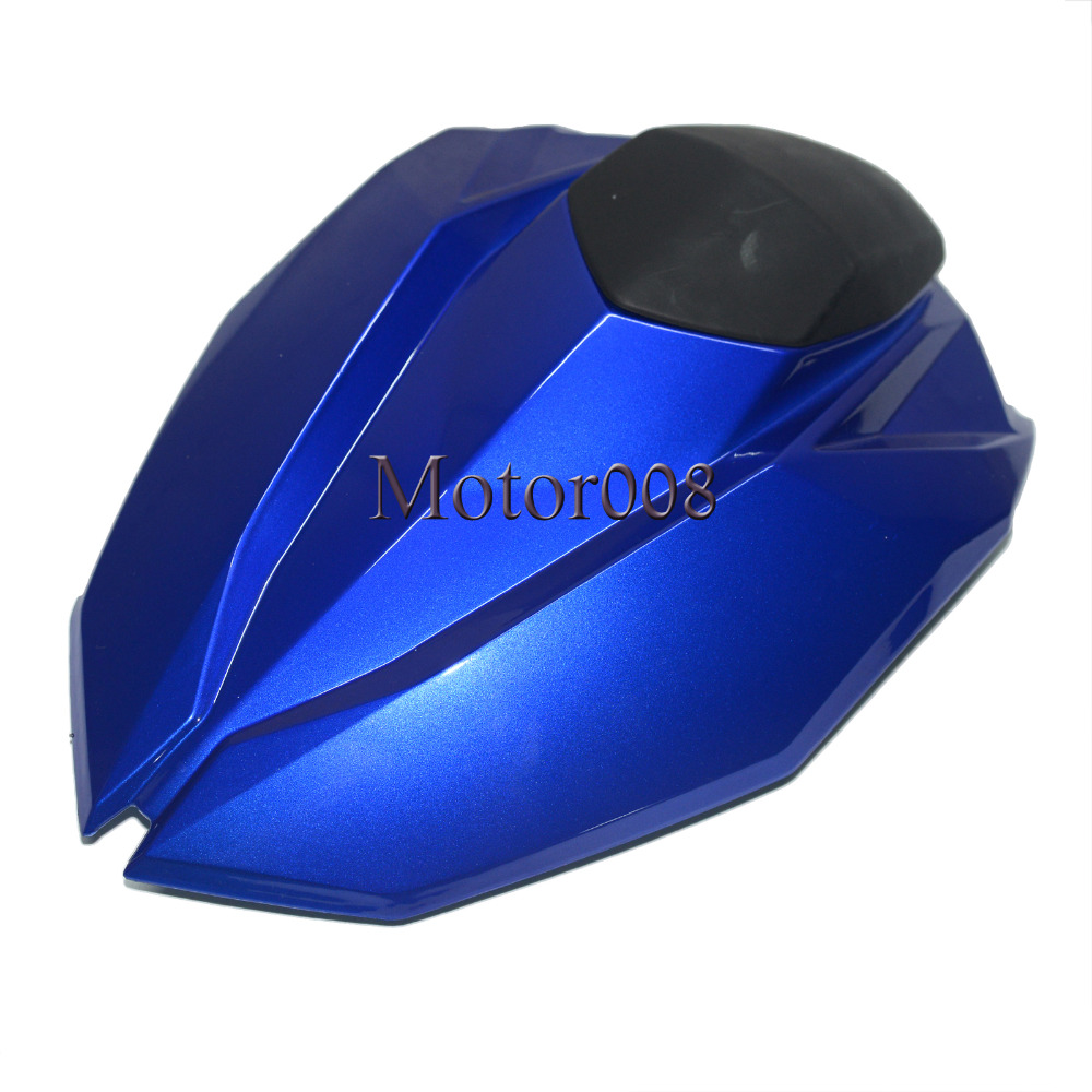 Blue Motorcycle Pillion Rear Seat Cover Cowl For Kawasaki Z800 Z 800 2012 2013 2014 2015
