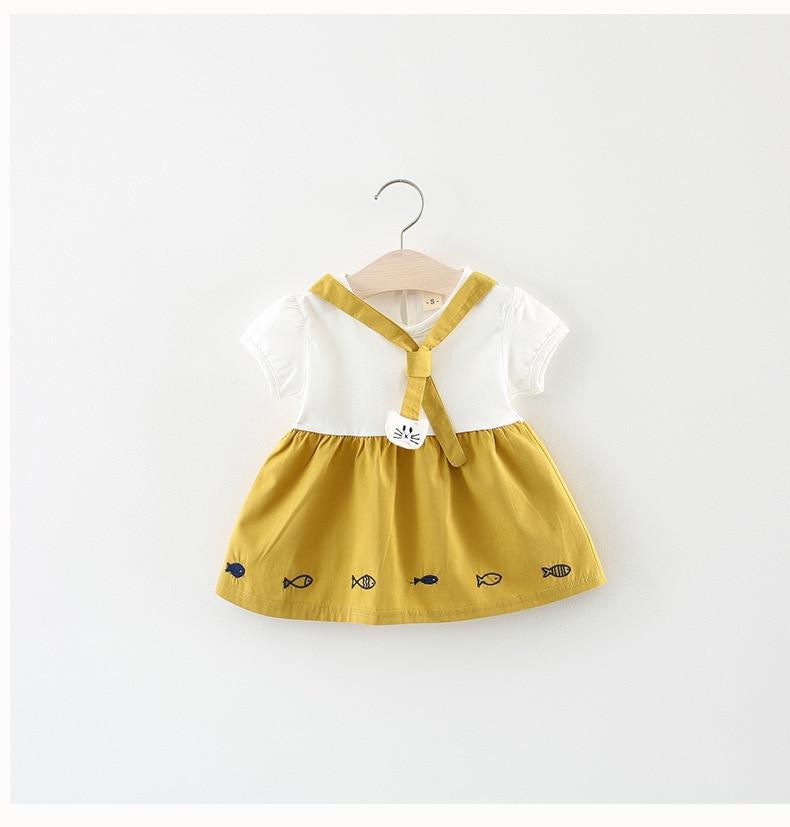 cbd8e7c9a طفلة الصيف اللباس الأطفال ملابس الاطفال ملابس الأميرة بنات فساتين عادية