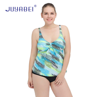 JUYABEI 2017 Hot Sale Women One Piece Swimwear Plus Size XL 4XL Swimsuit Large Size Bikini