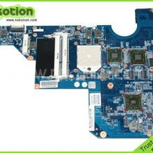 610161-001 материнская плата для ноутбука hp COMPAQ G62 CQ62 серии Mobile Radeon HD5430 DDR3