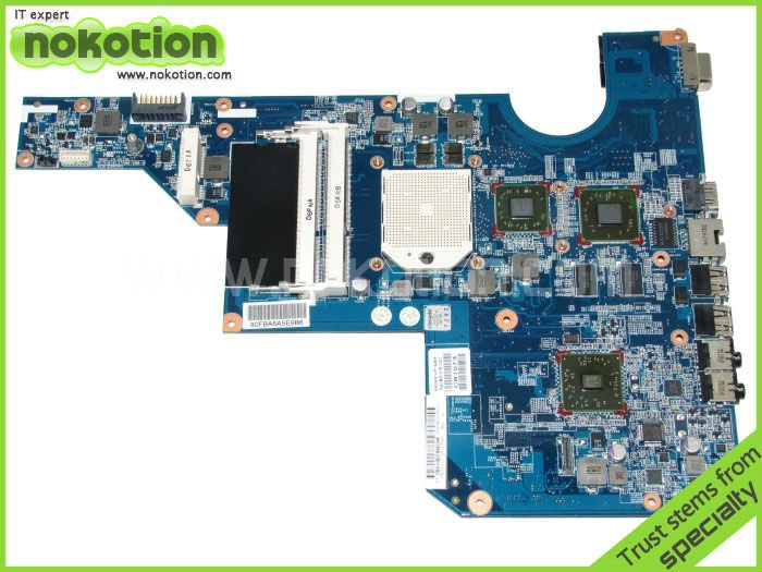 610161-001 LAPTOP MOTHERBOARD for HP COMPAQ G62 CQ62 series AMD ATI Mobility Radeon HD5430 DDR3