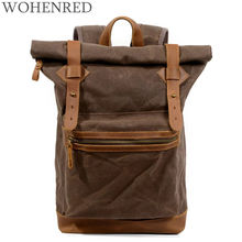 2018 New Casual Male Backpacks School Bag Boys For Youth Waterproof Laptop Backpack Men/Women Casual Leather Canvas backpacks ccz 2017 new arrival pu leather backpacks for men and women fashion school bag male water backpack 14 laptop backpack bk8003