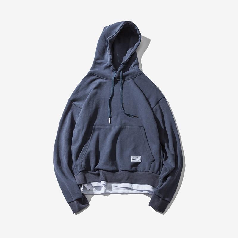 Caribbean หลวม hooded hoodies