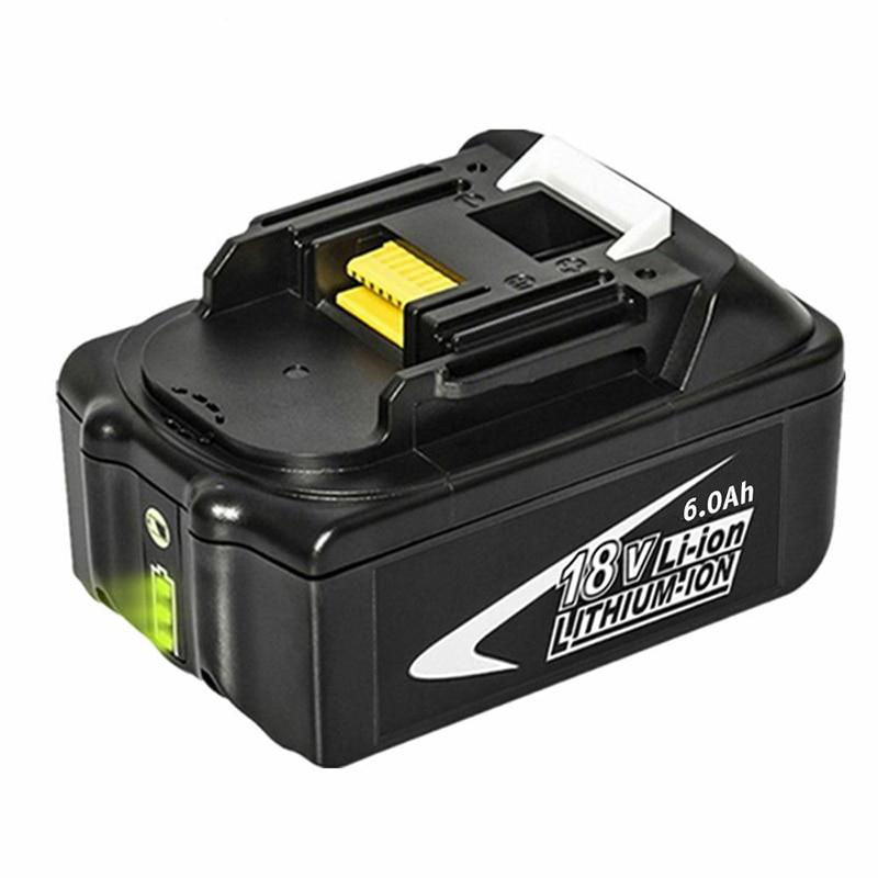 Batterie 18V 6AH 6000mAh Li-Ion pour MAKITA BL1860 batterie Rechargeable Portable pour MAKITA 18V batterie LED indicateur d'électricité