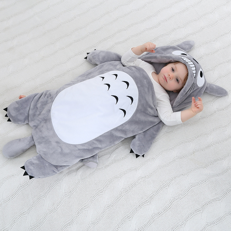 Baby Thicken Sleeping Bag Newborn Winter New Sleeping Bag Infant Baby 95cm Warm Sleepsack Infant Cartoon Sleeping Bag 100 Cotton infant baby sleeping bag baby blankets quilt thick natural cotton sleeping bag detachable sleeves newborn swaddling clothes