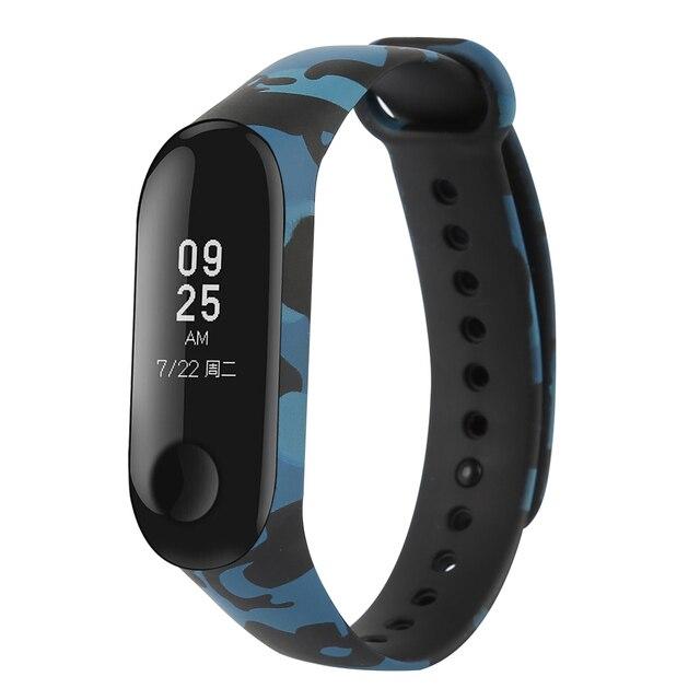 centechia Camouflage For Xiaomi Mi Band 3 Smart Accessories Miband 3 Wristband Strap