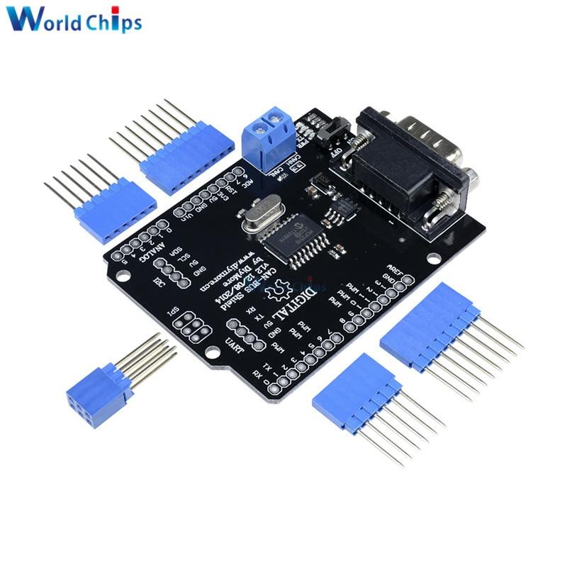 CAN-Bus Shield für Arduino MCP2515 MCP2551 mit Sub-D 9 Modul SPI
