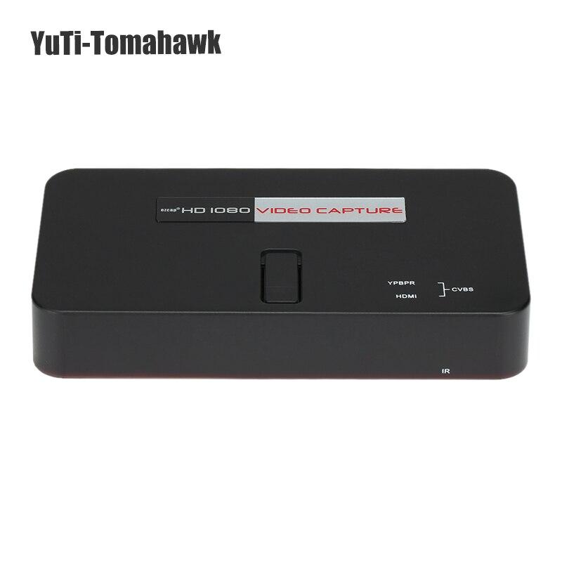 Ezcap 284 HD Jeu Video Capture 1080 P HD/YPbPr Composante ou Composite Enregistreur dans le Disque USB SD Carte Pour DVD PS3 Set-top Box