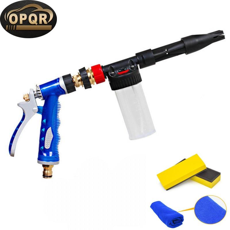High Pressure Snow Foamer Water Gun Profession Car Cleaning Foam Gun Water Soap Shampoo Sprayer Car Washer