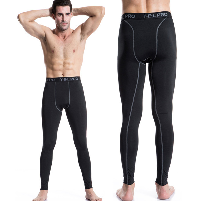 Cargo pants Base Layer Fitness Trousers PRO Compression Tights Long Pants Leggings Mens  ...