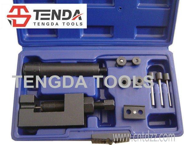 TENGDA TOOLS Motorcycle Chain Breaker, Chain Cutter RIVETING RIVET TOOL