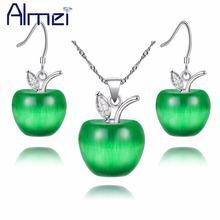 Almei скидка 49% розовый кристалл свадебные apple ювелирные