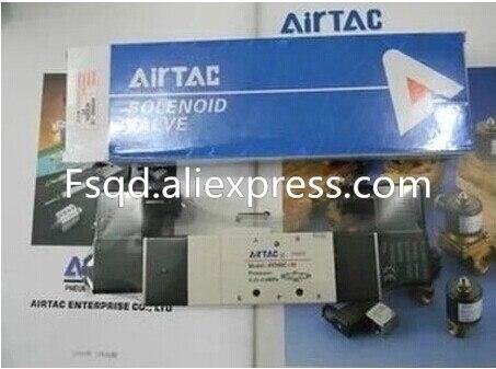 4V330-10 DC24V AIRTAC  solenoid valve pneumatic tools Quality pneumatic components air valve airtac new original authentic solenoid valve 4v230e 08 dc24v