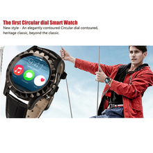 100% Original Leather S2 Bluetooth BT3.0 Smart Watch Waterproof Wrist T2 Smartwatch For IOS Android 1.22″ HD IPS Screen