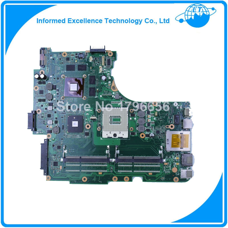 N53JQ for ASUS Laptop Motherboard N53JF N53JG HM55 With GT425M 1G I7 cpu 4 RAM Slots Mainboard fully tested & work eee pc 1225b motherboard for asus laptop mainboard fully tested