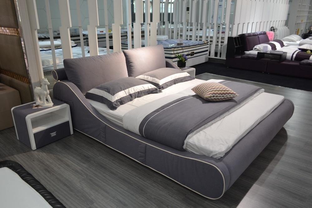 Modern Furniture Design 2016 Para Casa Soft Bed Bedroom Hot Sale Promotion King No Genuine Leather N And Inspiration