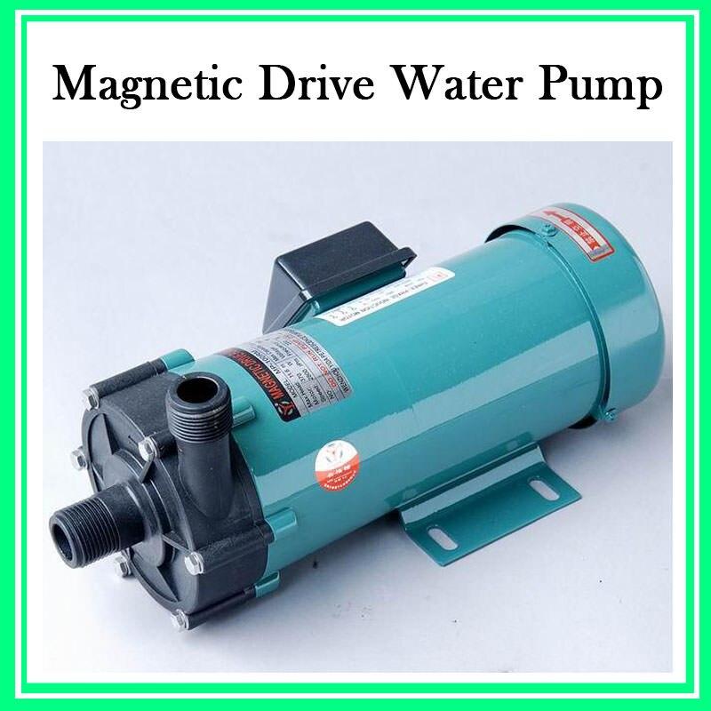 MP-30R 25W Plastic Acid Resistance Micro Magnetic Pump 220V 2pcs mp 30r m plastic magnetic drive pump acid resistance magnetic centrifugal pump transport waste liquid
