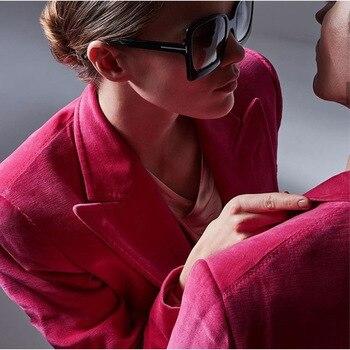 MIRSICAS Big Frame Square Sunglasses Women Fashion Shades UV400