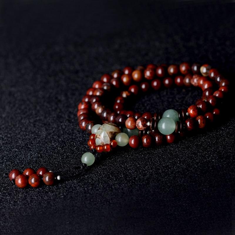Beaded βραχιόλι vintage Dzi χάντρες κρεμαστό - Κοσμήματα μόδας - Φωτογραφία 3