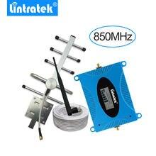 Repetidor celular de 3g repetidor de sinal umts 850 mhz b5 repetidor celular antena yagi + cabo de 10m-