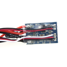 RC Car No Brake 10A Brushed ESC Forward Reverse Two Way Motor Speed Controller For 1/16 1/18 1/24 Car Boat Tank цены