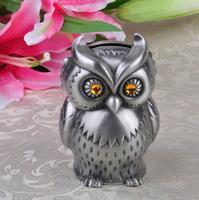 Домашний декор ремесло подарки на день рождения в форме Совы Детская Металлическая копилка монета копилка LX4690