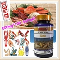 (Buy 3 Get 1 Free) Chitosan powder Deacetylated chitin Deacetylation 95% health and enhance immunity 500mg X 100 Softgel