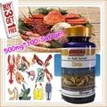 (Compre 3 y Obtenga 1 Gratis) polvo de quitosano quitina Desacetilado Desacetilación 95% salud y mejorar la inmunidad 500 mg X 100 Cápsulas Blandas