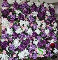 SPR mor yeşil düğün gül çiçek duvar backdrop Ücretsiz Kargo ile 10 adet/grup düğün arch yapay çiçek süslemeleri