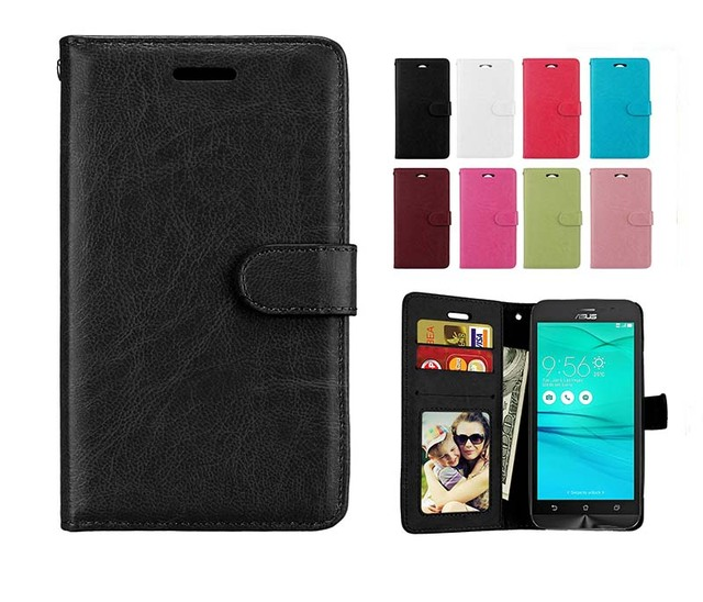 Photo Frame Leather Cover Case for ASUS X00AD ZenFone Go ZB500KL Coque Cases for ASUS X00ADC X00ADA X00BD Phone Wallet Holder