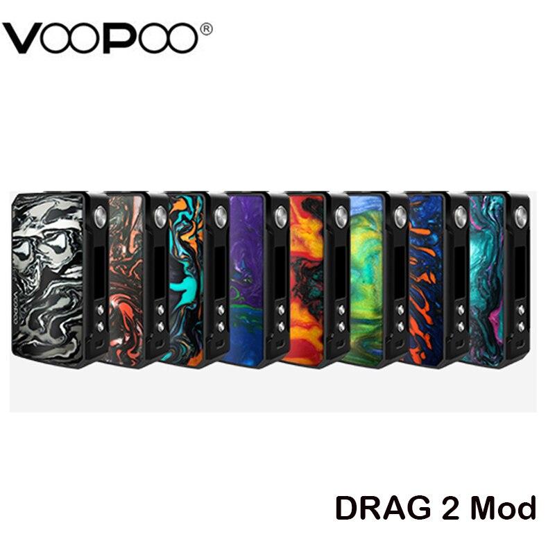 D'origine VOOPOO Glisser 2 Mod Boîte Vaporisateur 177 W FIT Support du Mode RDA/RTA/RDTA Réservoir vaporisateur de cigarette électronique Herbe glisser 157 w
