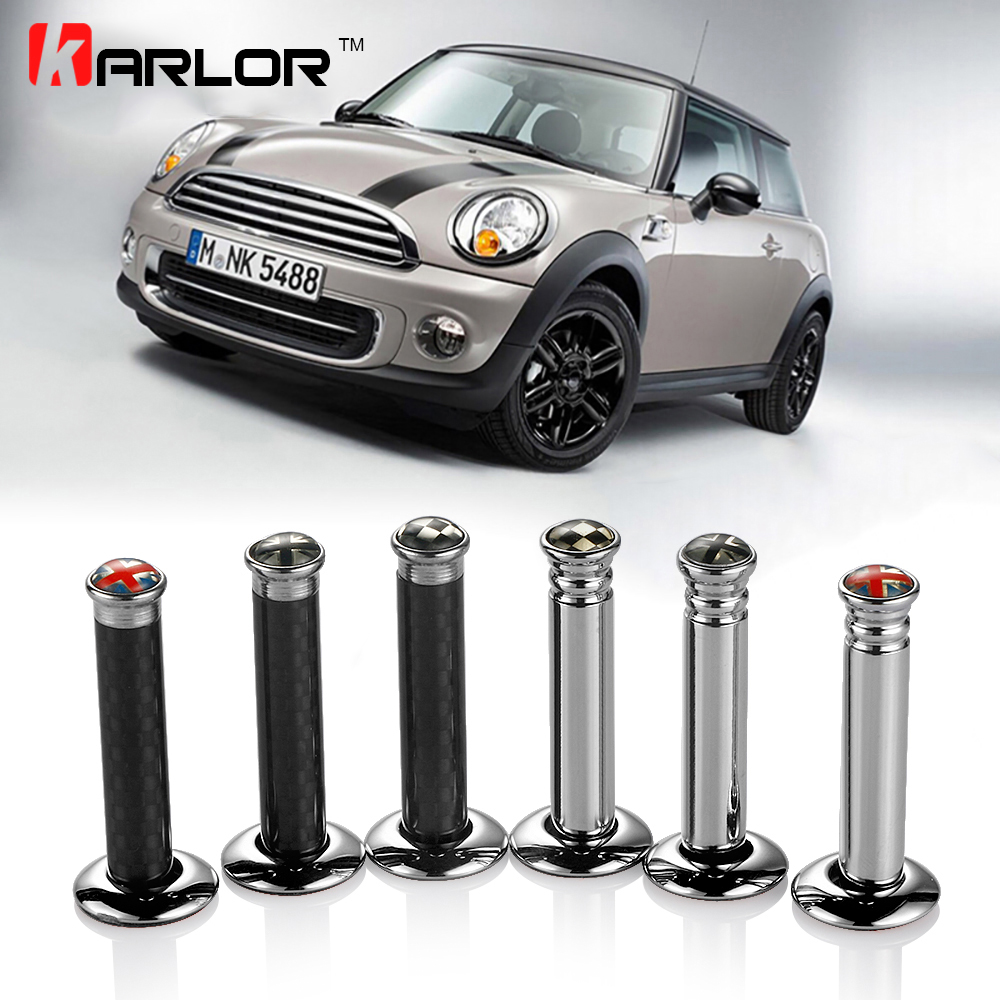 Car door pin lock interior accessories for mini cooper s one clubman countryman r55 r56 r57 r58 Mini cooper exterior accessories