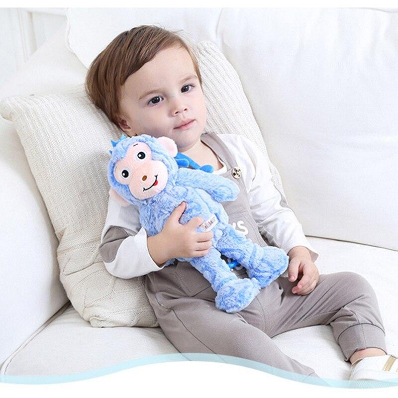 Jollybaby 4 Rattice Toys Baby Pressed Toy Plush Toys Dolls Rucks Soft stuffed Toys WJ467