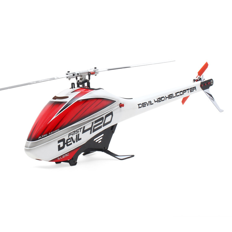 ALZRC - Devil 420 Helicopter 420 FAST FBL KIT - Silver - Standard 17H420-PA-K alzrc 450 helicopter devil 450 pro v2 fbl kit silver