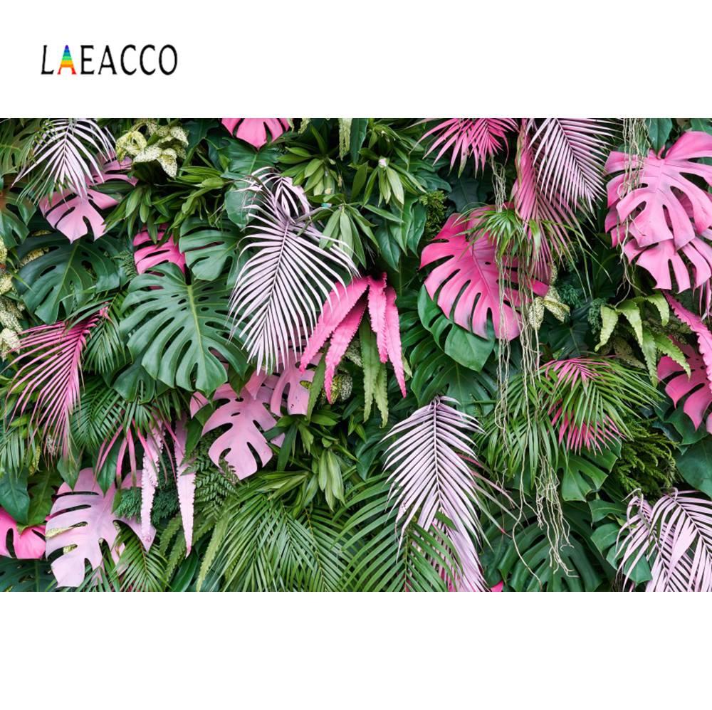Laeacco тропические листья пальмы ребенок день рождения портрет фотосессии фон для фотосъемки фон для фотостудии|Фон| | - AliExpress