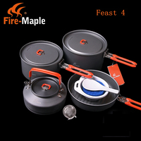 4 5 Person Cooking Pot Camping Cookware Outdoor Pots Sets Feast4