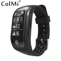 ColMi S908 Bluetooth GPS Tracker Wristband IP68 Waterproof Smart Bracelet Heart Rate Monitor Fitness Tracker Brim