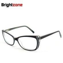 762ddebb93 Free Shipping Fashion High End Cat Eye Handmade Acetate Eyeglasses  Prescription Eye glasses Frame Oculos de grau Femininos B5003