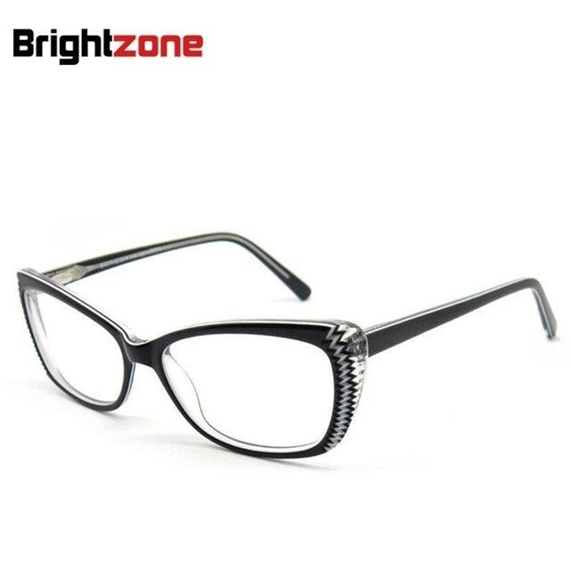 aaf3b16242 Free Shipping Fashion High End Cat Eye Handmade Acetate Eyeglasses  Prescription Eye glasses Frame Oculos de