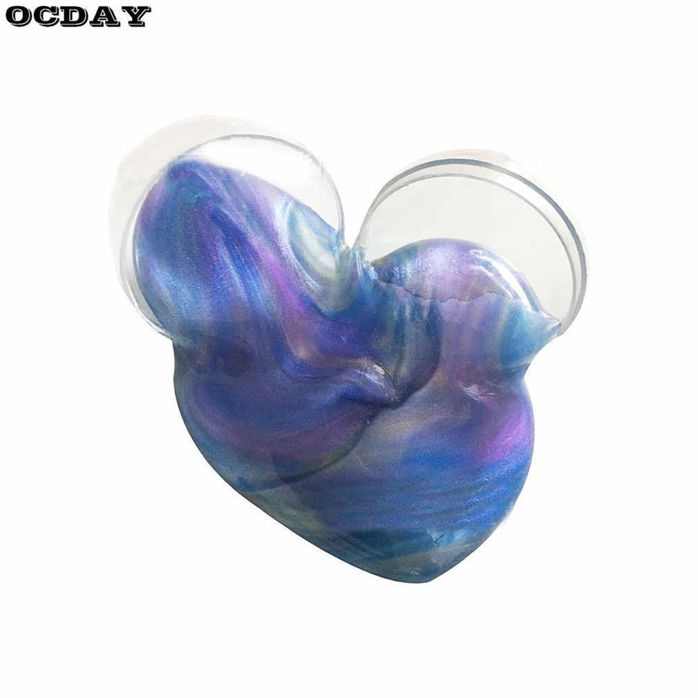 1PC Crystal Modeling Clay Amazing Starry Sky Slime Mud Putty Colorful Scented Stress Relief Kids DIY Educational Clay Toy Gift