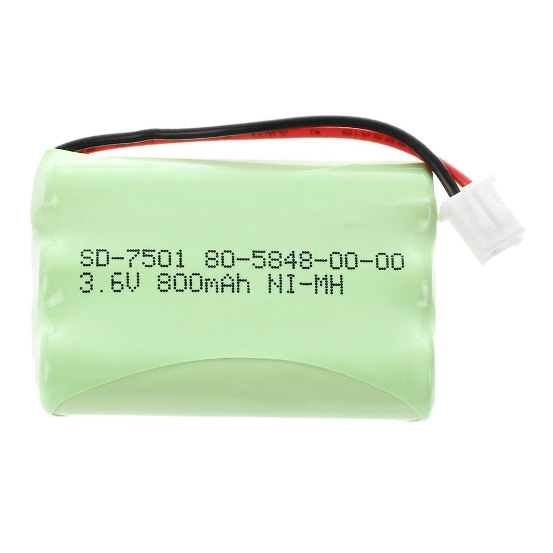 Cordless Phone Battery 3.6V 800mAh NiMH for Southern Telecom MC1000 MC1000HS, Vtech 80-0099-00-00 8900990000 80-1323-00-00 891