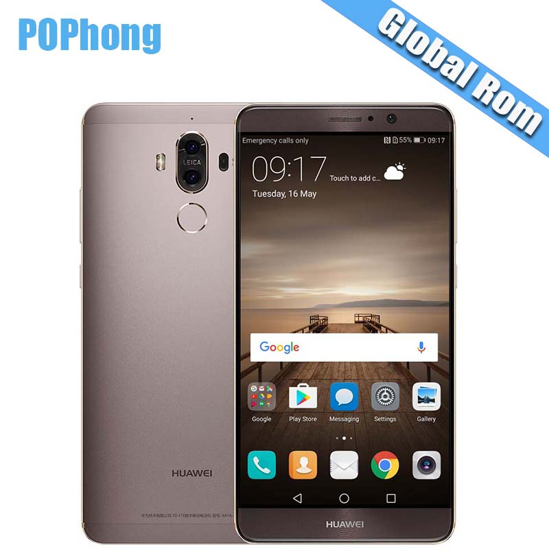 US $339 99 |International Firmware Huawei Mate 9 4G/6G RAM 32G/64G/128 ROM  Dual Rear Camera 5 9'' Smartphone Android 7 0 Kirin 960 Octa Core-in